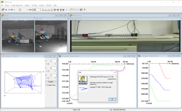 motion tracking software download - WINanalyze Player - screenshot